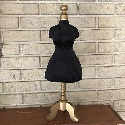 Tabletop Mini Manniquindress Form 21 Tall