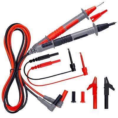 Kaiweets Electrical Multimeter Test Leads Set With Alligator Clips For Fluke