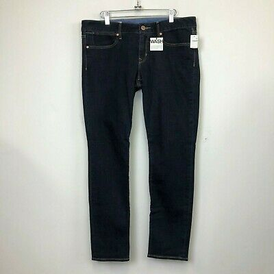 NWT Gap 1969 Women's Dark Wash Always Skinny Ankle Jeans - Size 16