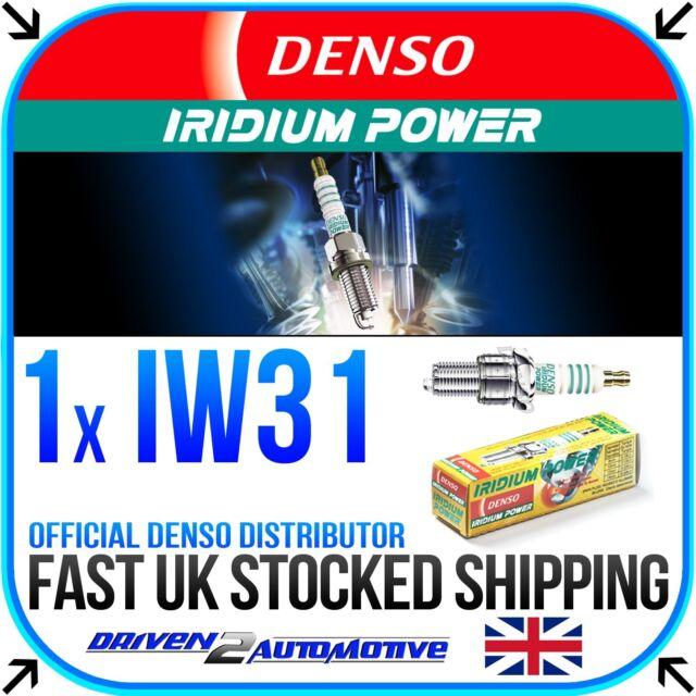 1x DENSO IW31 IRIDIUM POWER SPARK PLUG REPLACES BR10EIX, BR10EGV, BR10EG