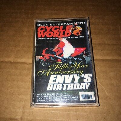 RARE! DJ ENVY The Birthday Tape 90s Queens NYC CASSETTE Hip Hop Mixtape Rap