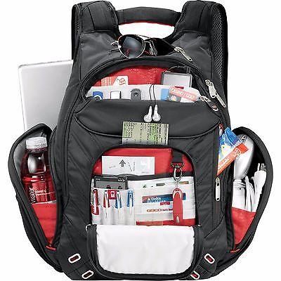 "elleven™ Ampd TSA 17"" Compu Backpack executive TECH travel TEACHER/student"