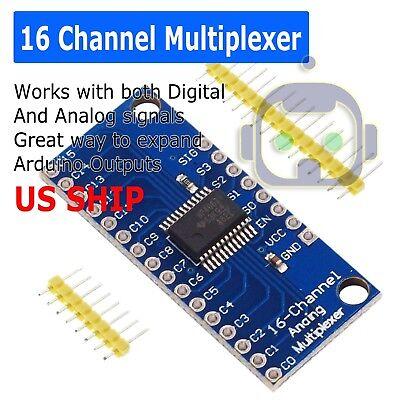 Cd74hc4067 16 Channel Analog Digital Multiplexer Mux Breakout Board Module Us
