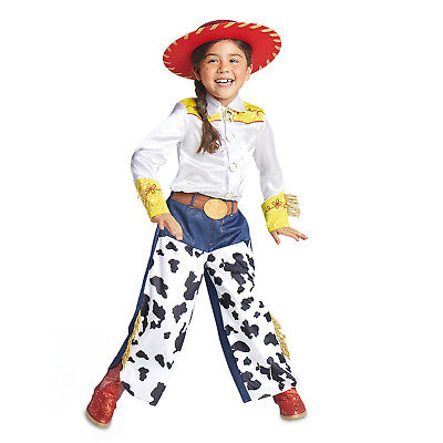 Toy Story JESSIE Cowgirl Costume Shirt + Pants Girl Child Small 5 6 Disney - Jessie Costumes