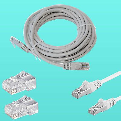 20 Meter LAN Internet Netzwerk Kabel CAT-5e 20 Meter Patchkabel für DSL Internet - Internet-netzwerk-kabel