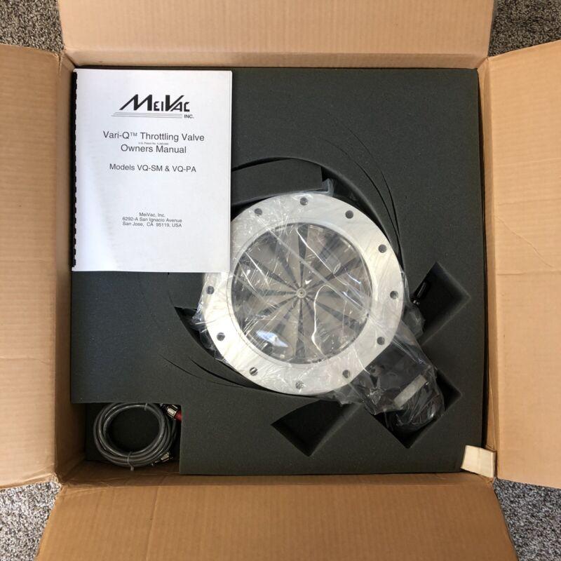 MeiVac VQ-200-ISO-U-SM Throttling Valve with Drive Motor UHV Vacuum Regulator