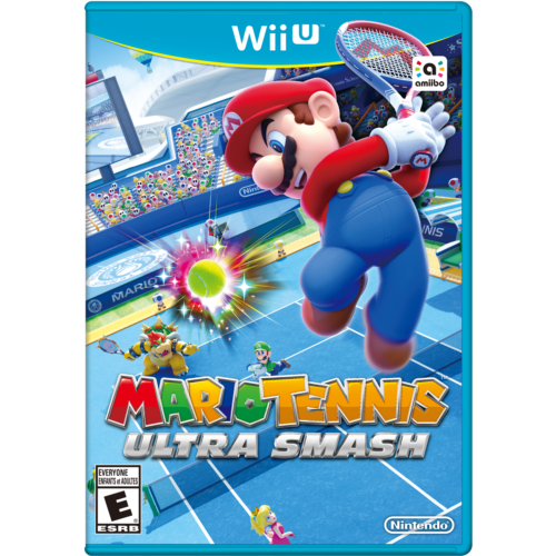 $25.00 - Mario Tennis Ultra Smash (Wii U, 2015)