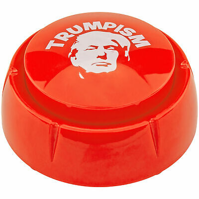 Donald Trump Trumpism Sound Button Desk Gag Novelty Joke White Elephant Gift NEW Greeting Cards & Party Supply