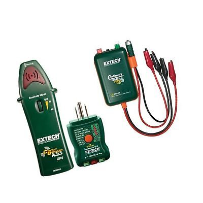 Extech Cb10 Circuit Breaker Finder With Remote And Local Continuity Tester New