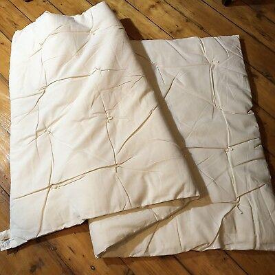 Bio-Matratzenauflage Unterbett Schafwolle warm 70 x 140 cm