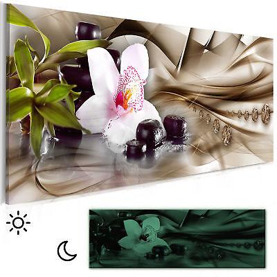 BLUMEN  ORCHIDEE Wandbilder xxl Bilder Vlies Leinwand Leinwandbild b-C-0824-b-a