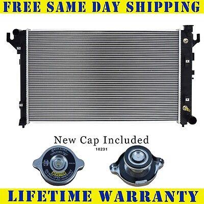 Radiator & Cap For Dodge Ram Pickup 1500 2500 3500 3.9 5.2 5.9 1552