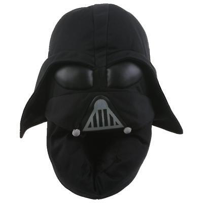 Orig DISNEY STAR WARS Darth Vader Hausschuhe Pantoffel Schlappen Schwarz (Darth Vader Disney)