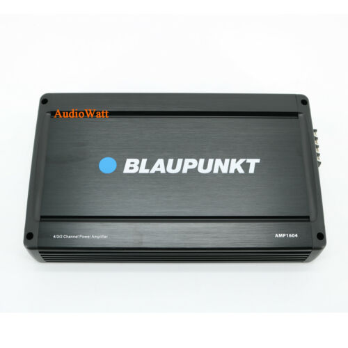 BLAUPUNKT AMP1604 4 CHANNEL FULL RANGE CAR AMP AMPLIFIER 1600W MAX PEAK POWER