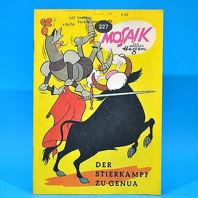 Mosaik 227 | Digedags Hannes Hegen Originalheft | DDR | Sammlung original XT 1