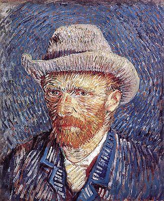 Vincent Van Gogh: Self Portrait with Felt Hat - Fine Art (Vincent Van Gogh Self Portrait With Felt Hat)