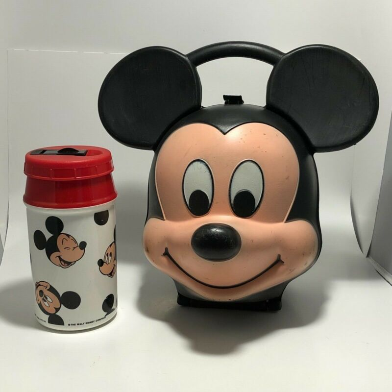 Aladdin The Walt Disney Company Mickey Mouse Lunch Box With Thermo USA
