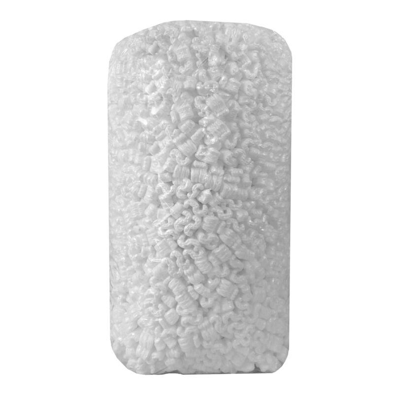 uBoxes Packing Peanuts: White 3.5 Cubic feet Styrofoam Cushioning