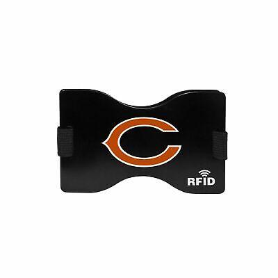 Football Chicago Bears RFID Blocking Wallet Minimalist Wallet Money Clip