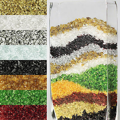 Crushed Glass Sand Vase Fillers (12 Bags, ...