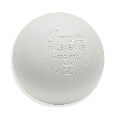 NEW White Lacrosse Balls NOCSAE / SEI /NFHS/NCAA Certified Single Lacrosse Ball