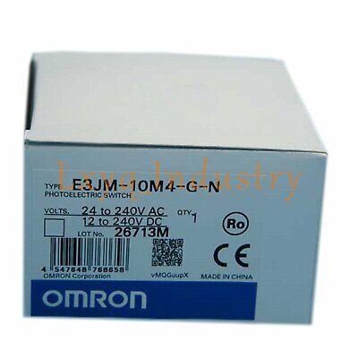 Omron Photoelectric Switch E3JM-10M4-G-N E3JM10M4GN Brand New Quality Assurance