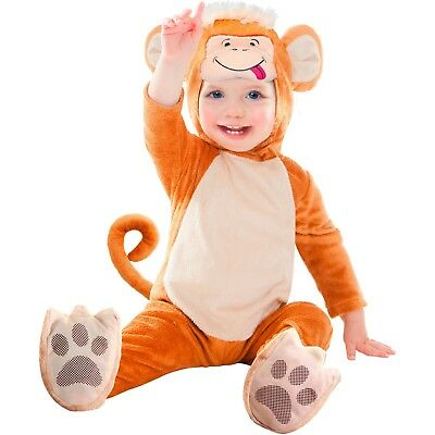Monkey Infant-Toddler Bodysuit Halloween Dress-Up Baby Costume 6-12 Months #6822](Monkey Baby Costume)