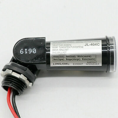 Led 120v Dusk To Dawn Outdoor Swivel Photo Light Control Photocell Sensor