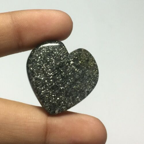 Natural Black Sunstone Gemstone Best Cabochon 48.5 Cts UPE-8