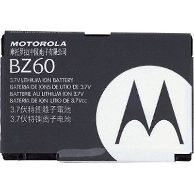 Motorola Razr V3 Replacement Battery (NEW OEM Motorola BZ60 Phone Battery RAZR V3c V3xx V3a V3i 900mAh SNN5789 V6 MAXX )