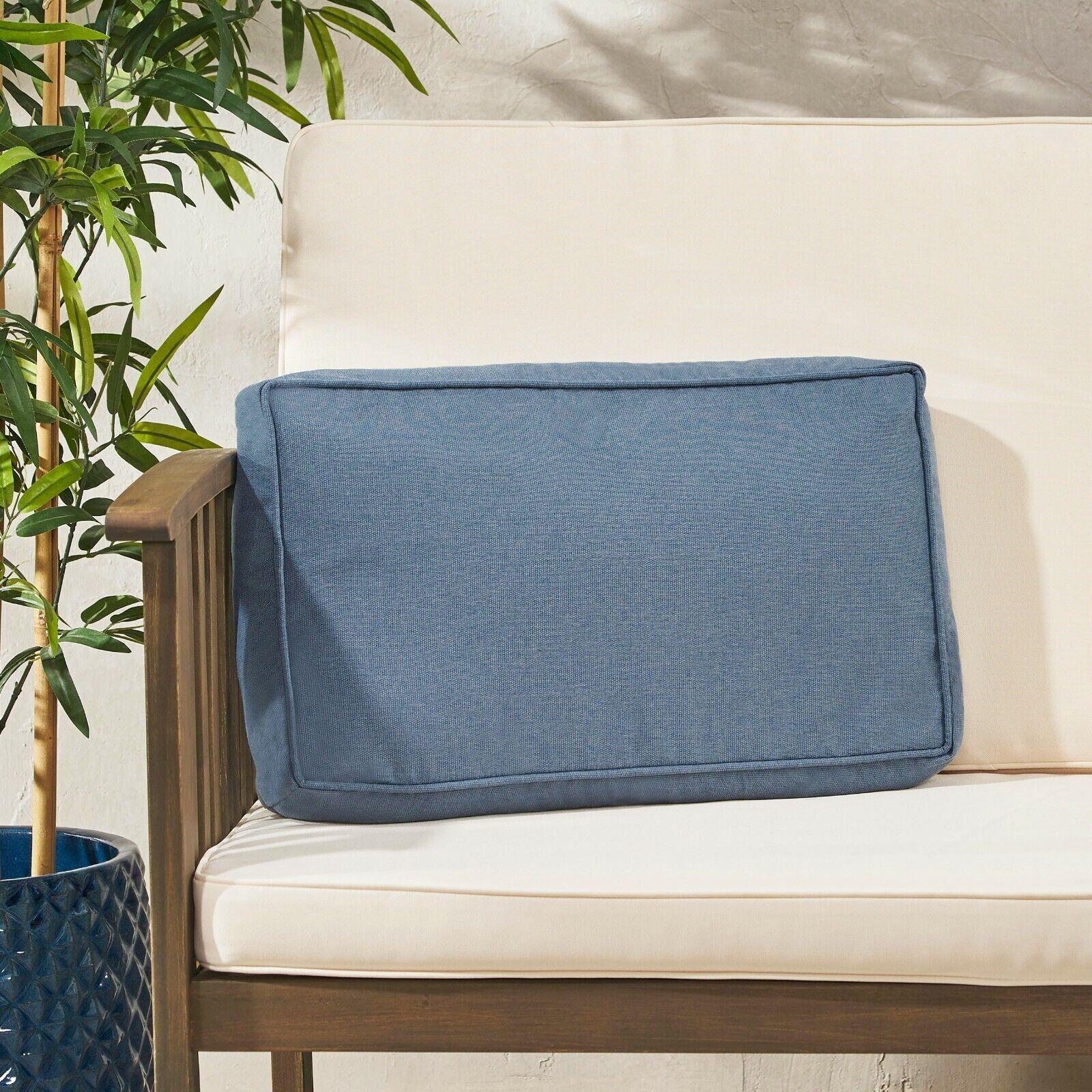 Rydder Coast Outdoor Rectanglular Water Resistant 12″x20″ Lumbar Pillow Home & Garden