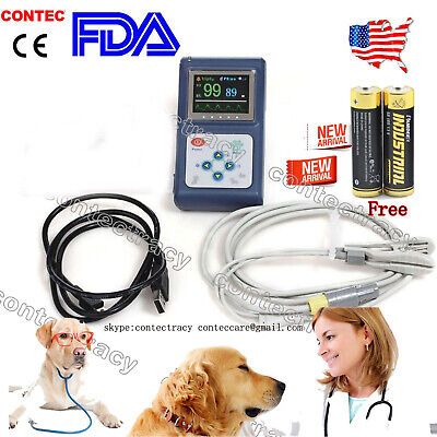 Cms60d Vet Veterinary Use Fingertip Pulse Oximeterspo2 Blood Oxygen Monitorusa