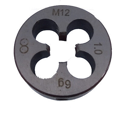 US Stock HSS 12mm x 1 Metric Die Right Hand Thread M12 x 1mm Pitch