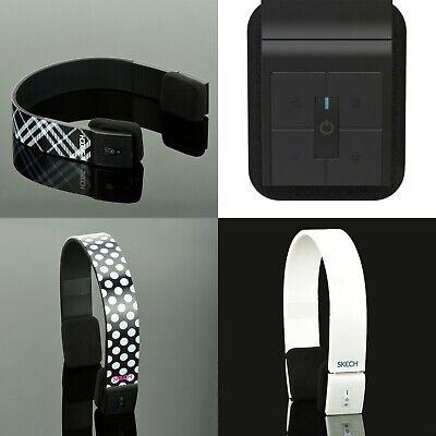 Bluetooth Wireless Headphones On the Ear Ear Pad Stereo Headband Headsets w/ Mic
