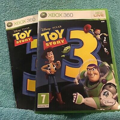 Toy Story 3 Xbox 360 Game + Manual.  Please read condition description...