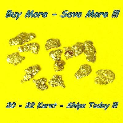 .120 Gram Bering Sea Gold Nugget Natural Raw Alaskan Placer Flake 18k Alaska