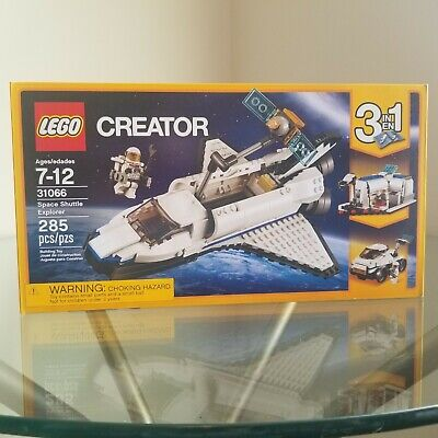 LEGO 31066 Creator Space Shuttle Explorer 3-in-1 - NEW