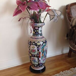 Quality replica Chinese vase - Vase décoratif chinois