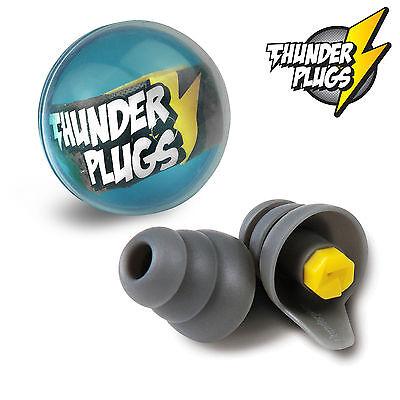 THUNDERPLUGS (ER20) TPB1 Musician Earplugs + Free Carry Case! - FREE UK P&P