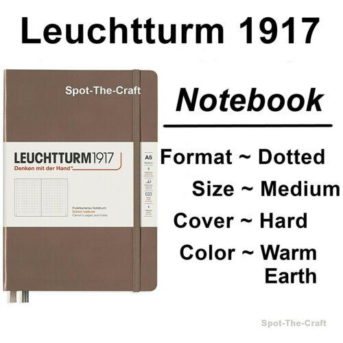 Leuchtturm1917 Dotted Journal Notebook Medium A5 Warm Earth 363395