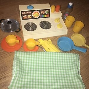 Vintage Fisher Price Magic Burner Stove Top