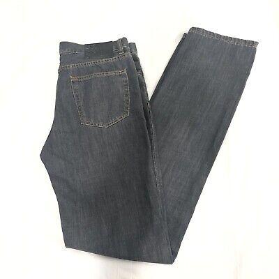 Versace Collection Men's Dark Gray Jeans Size 33 Straight Leg Medusa Logo