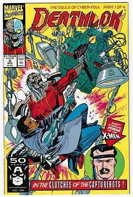 Lot of 17 DEATHLOK comics. #2-20.  All VF(8)