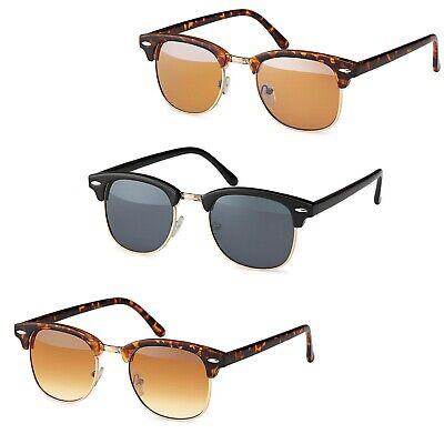 Sonnenbrille für Erwachsene Club-Style Vintage Design 50er Jahre Unisex ()
