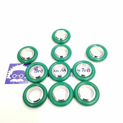 Kf16 Stainless Steel 304 Centering Ring With Fkm Viton O-ring 10 Pcs Pack