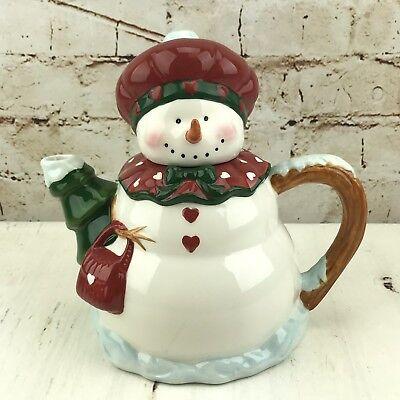 Christmas Teapot Snowman Girl Tree Handbag Heart Buttons Winter Decor Delton
