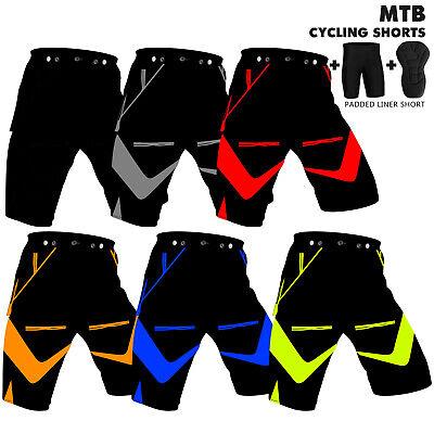 Cycle Liner Shorts (MTB Cycling Shorts Off Road Cycle Bicycle CoolMax Padded Liner Short Nexwears )