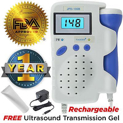 Angelsounds Fetal Doppler 3MHz Probe, Baby Heart Monitor, Backlight LCD, JPD100B