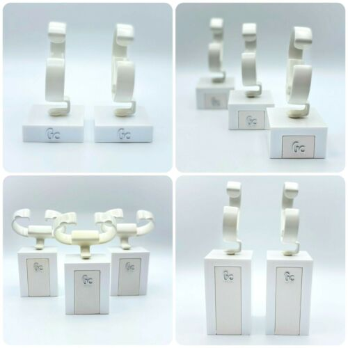Guess Collection Watch Stand Set - 10 Interchangeable Pieces - White Color