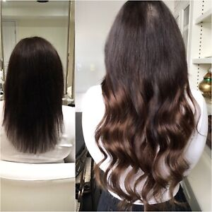 Spring Special full head of tape in or fusion hair extensions